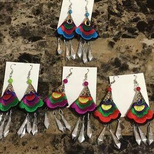 Artisan Chiapas Mexico Earrings